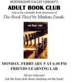 Adult book club february 2018