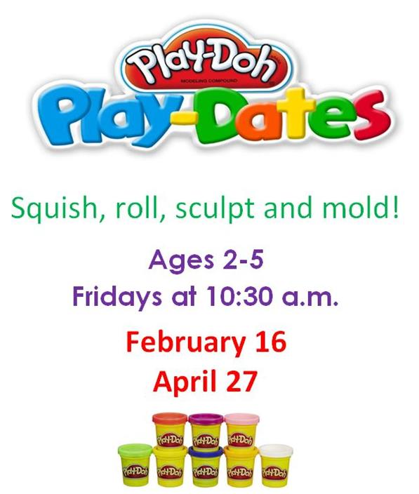 Play doh playdate feb 2018