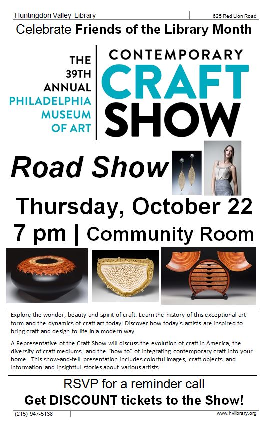 Craft road show long