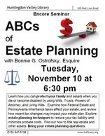 Nov 15 ABCs Estate