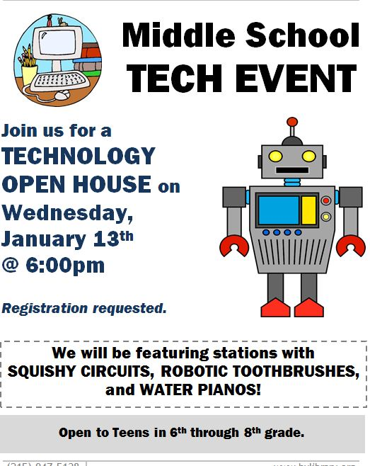 middle school tech event