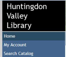 HVL catalog search