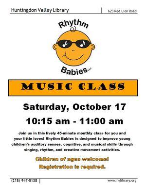 rhythm babies oct
